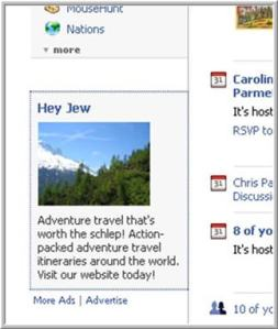 facebook using jewdar targeting?