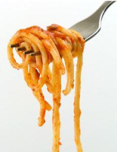 spaghetti. fork'd up.