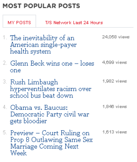Most Popular Posts 10-1-2009 9-31-26 PM