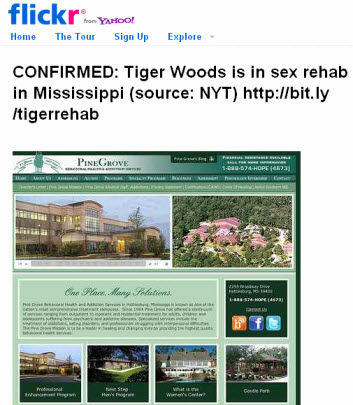 Jason Calacanis on Tiger Woods' sex rehab via Flickr