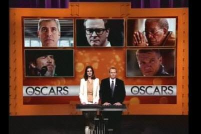 Announcing 2010 Oscar Nominations.  Y-a-a-a-w-n.