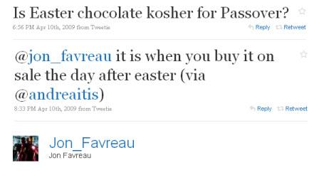 jon favreau twitter 2-2-2010 9-53-47 AM