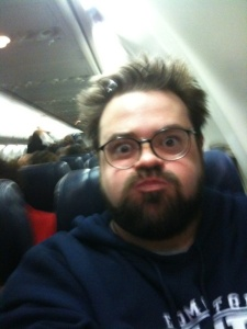 kevin smith on southwest air flight